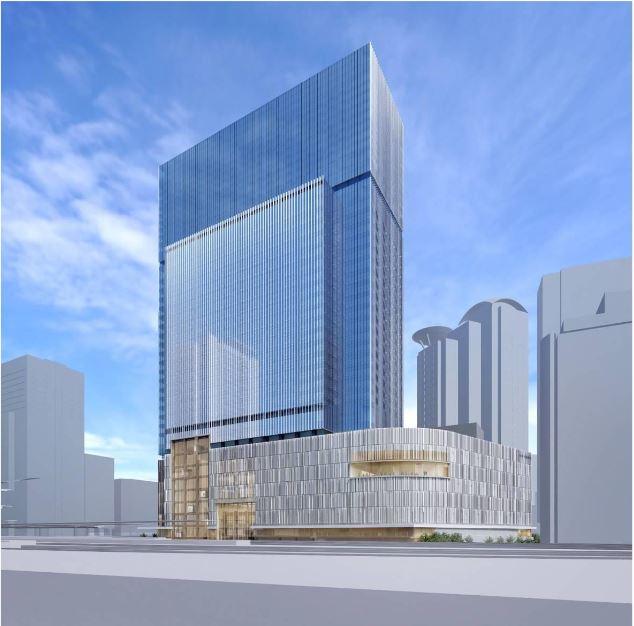 大阪駅直結の大型複合施設の開発決定、劇場・高級ホテル・商業施設の連携でMICEなど新たな価値を