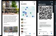 ブッキング・ドットコム、「街歩きアプリ」を公開、第一弾は欧州3都市、旅行計画から現地ナビゲーションなど集約