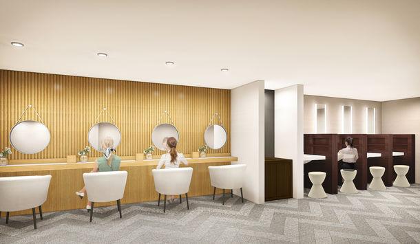 ファーストキャビン、京都・四条に初の女性専用施設、既存施設の改装で女子旅を極めるサービスに