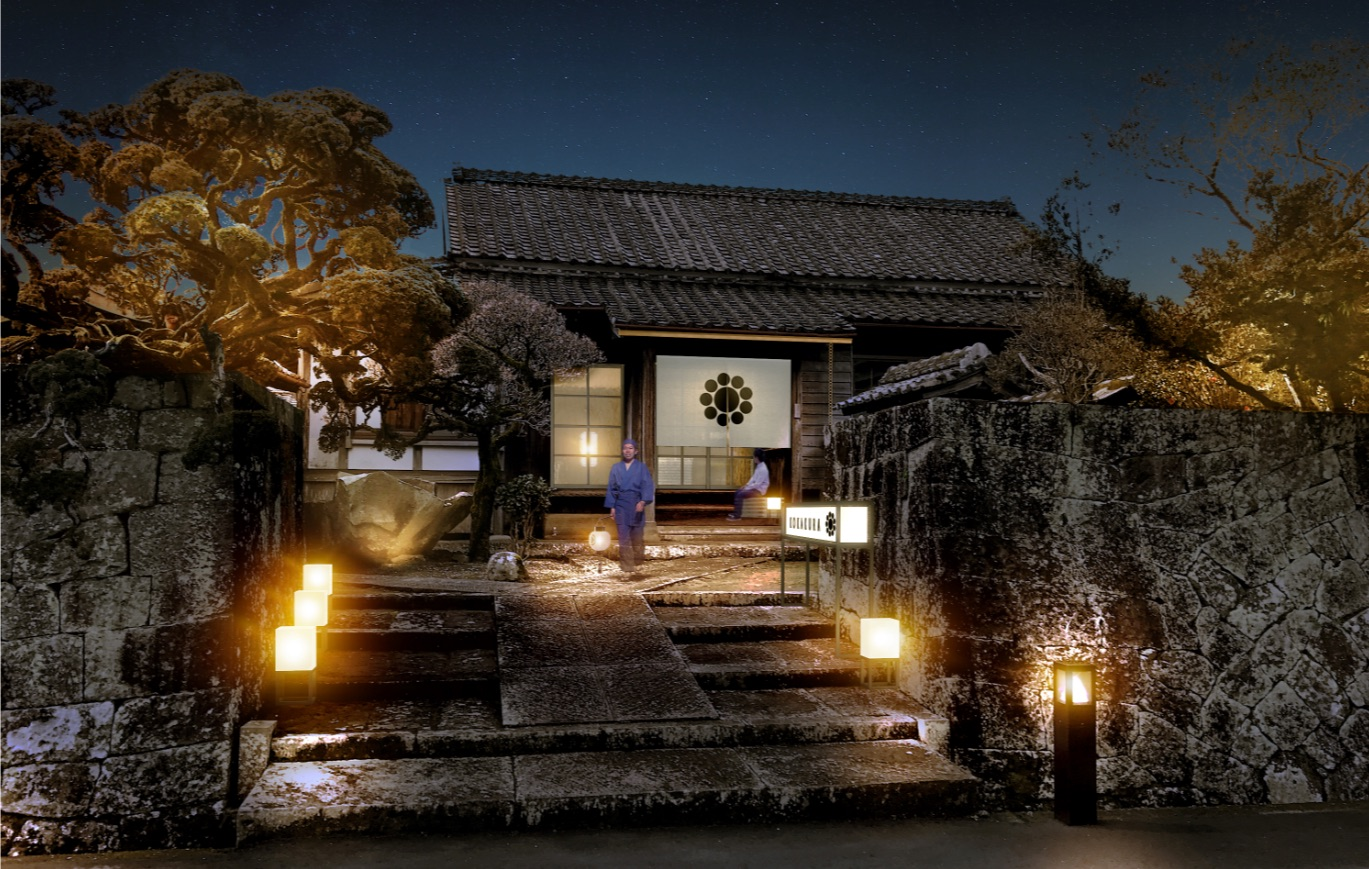 宮崎県日南市・飫肥に築140年の武家屋敷を再生した温泉旅館、地元商店街と連携で地域交流機能も
