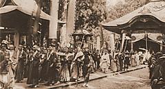 三朝温泉・三徳山で3年に1度の御幸行列、今年は新天皇ご即位記念、クラブツーリズムがツアー発売