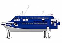 東海汽船、25年ぶりに新造ジェット船、東京/大島間を約1時間45分で運航へ
