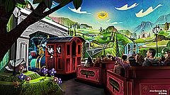 米フロリダのディズニーに新施設、初めてミッキーとミニーがアトラクションに登場