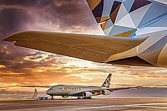 エティハド航空、アブダビ発着の旅客便をすべて停止、当面2週間の措置