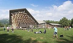 スノーピーク、長野県・白馬エリアに新たな体験型複合施設、サイクリングやキャンプ体験など野遊び体験を提供