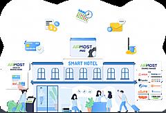 宿泊施設のカギ受渡しや返却を遠隔で可能に、不動産IoTソリューションと宿泊管理システムの連携で