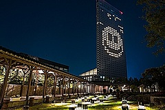 マリオット、アジア地域のホテルで「スマイル」のライトアップ、4月末まで「Light for Hope(希望の光)」