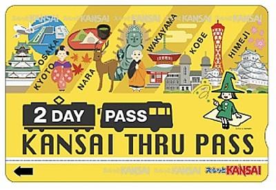 スルッとKANSAI、訪日客向け乗り放題パスをEチケット化、世界200以上のOTAで販売、リンクティビティと連携