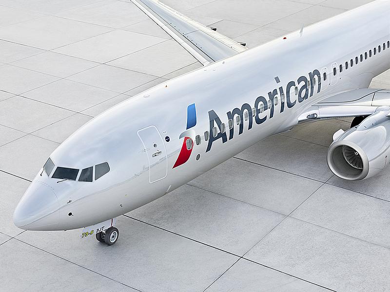 アメリカン航空、感染防止策をさらに強化、オンラインチェックインでは症状の有無の申告を義務化