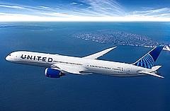 ユナイテッド航空、羽田/シカゴ線就航へ、7月7日から、日本発着運航便は4路線に