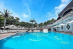 ニューオータニ、屋外プールを完全予約に、宿泊プラン発売で利用者のみ、3部入替制で入場者数は2割に