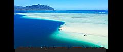HIS、ハワイ「天国の海」で、日本にいながらオンライン体験ツアー、現地ガイドが案内、毎週土曜日に参加型で一人2200円