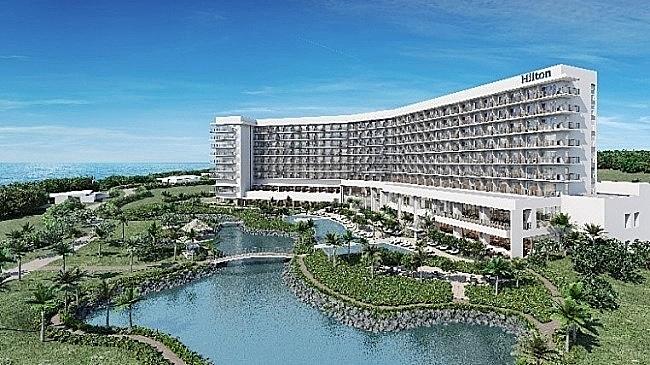 ヒルトン、沖縄・瀬底島の新ホテル開業日が決定、屋内プールなどは10月から営業開始