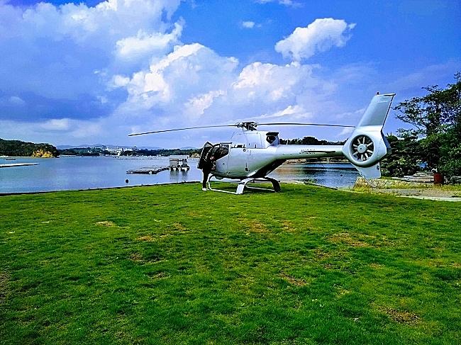 京都からヘリコプターで伊勢に行く日帰り観光プラン、高級鮨店が販売、1日1組2名限定で