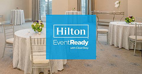 ヒルトンホテル、MICE向けに新しい衛生基準プログラムを立ち上げ、オンラインとのハイブリッド会議も提案