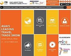 旅行業界のB2B見本市「ITBアジア」、今年はバーチャルで登録無料、視聴者用プラットフォームを公開、MICE・トラベルテックと併催(PR)