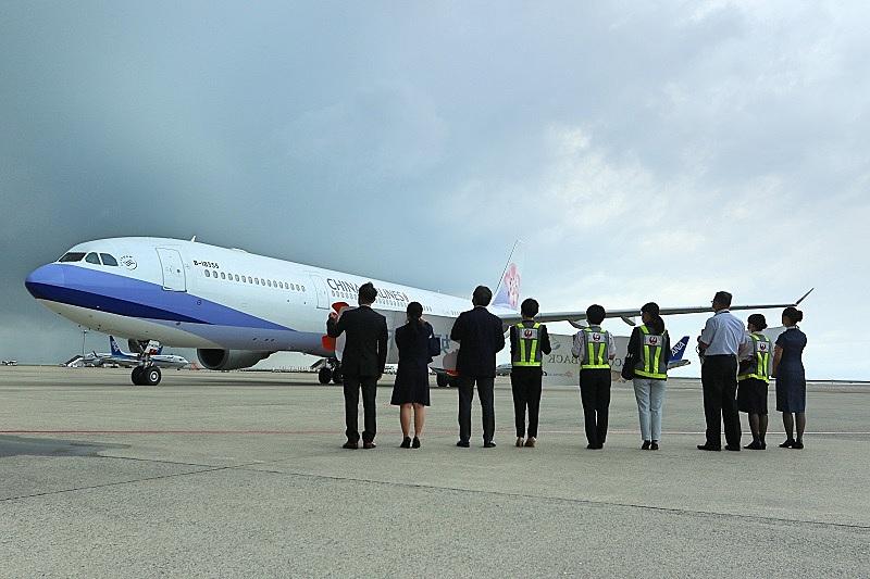 チャイナエアライン、名古屋/台北線の旅客便を5カ月ぶり再開、24日も運航を予定