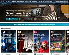 アマゾン、バーチャル旅行体験サービスを開始、現地商品を買えるプランも、米国向けにβ版を提供