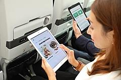 JAL子会社LCC「ZIP AIR(ジップエア)」、機内で自分のスマホから軽食や機内販売を注文できるシステム導入、決済も