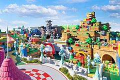 USJ、世界初「任天堂エリア」の開業日決定、2月4日に、「クッパ城」をシンボルにマリオカートなど