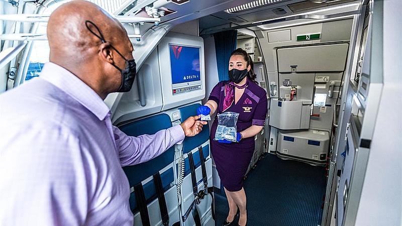 デルタ航空、隔離免除の出発前検査プログラムを開始、米国発のイタリア入国で、4回検査で陰性が条件