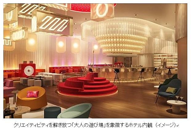 世界的なデザイナーズホテル「W」が日本初進出、大阪に開業へ、デザイン監修は安藤忠雄氏