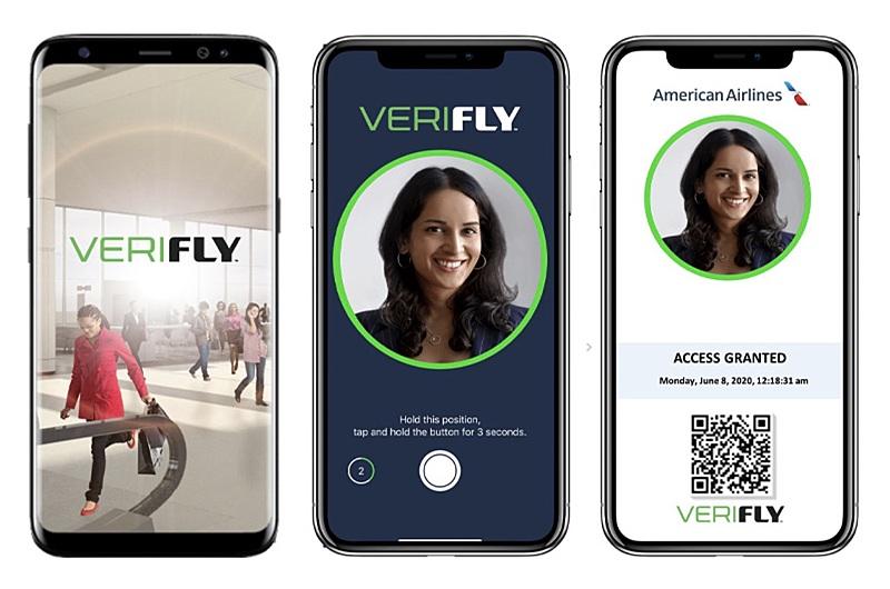 アメリカン航空、スマホ健康証明アプリ「VeriFLY」の運用開始、米国への国際線でも利用可能