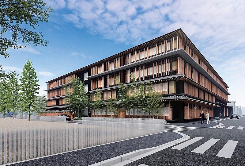 タイの高級ホテルが日本初進出、「デュシタニ京都」が2023年に開業へ、本願寺門前町に4階建て全150室で
