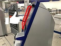 中部国際空港、自動チェックイン機に非接触センサーを試験導入、指かざすだけで操作可能に