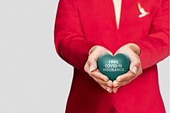 キャセイ航空、航空券に「無料コロナ保険」を自動付与、旅先での医療費など補償