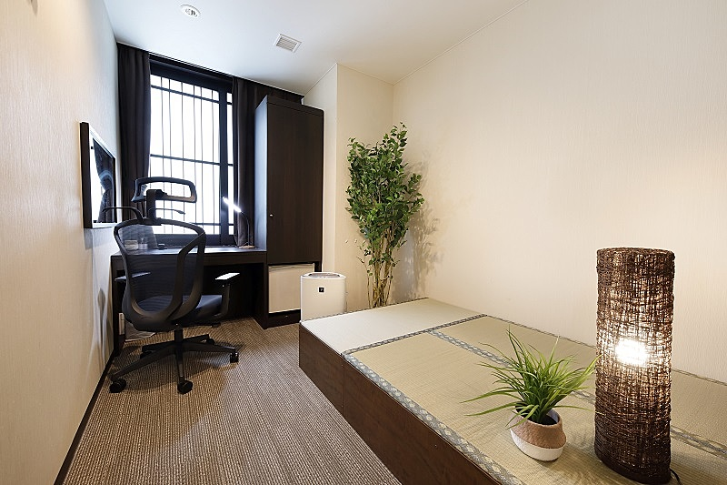 京都タワーホテル、ベットなしの新客室、日帰りのテレワークや受験勉強など需要に対応、1日4500円で