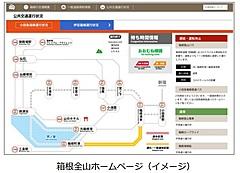 箱根の混雑状況を一元発信へ、国道1号線や大涌谷の渋滞回避で、箱根観光協会らが連携