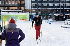 フィンランドで「スキー」が新たな移動手段に、ラハティ市が無償で用品貸し出し
