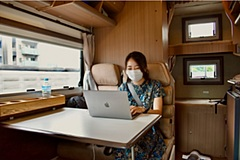 Japanese start-up Carstay launches 'Mobile Office' project to rent a travel trailer as a remote-working space