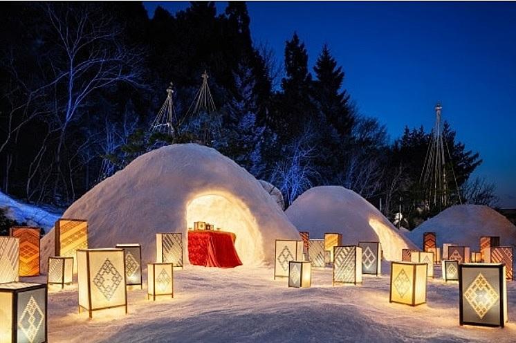 星野リゾート、「プライベートかまくら」を体験する宿泊プラン、家族やグループごとに時間帯分けて