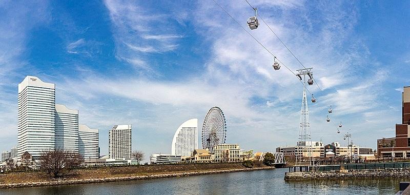 横浜に常設ロープウェイが登場、桜木町駅と新港ふ頭をゴンドラで移動、4月22日に運行開始