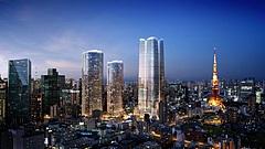日本初進出の高級ホテル、アマン姉妹ブランド「ジャヌ東京」が開業へ、「アマンレジデンス 東京」も