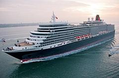 豪華客船クイーン・エリザベス、日本発着で初めて短期クルーズ、2022年に運航へ