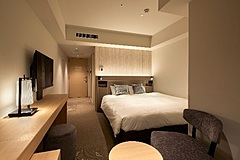 京王プレリアホテル京都、2名まで30泊9万円プラン発売、電子レンジ、食器類なども備付け