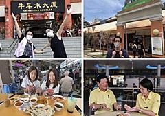 JTBとHISが共同でバーチャルツアーを実施、シンガポールの屋台が集うホーカーセンターめぐるグルメツアー