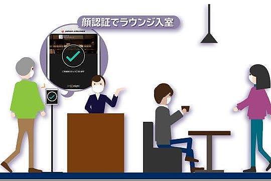 マスク着用のまま顔認証、空港ラウンジや観光スポットで、JALとNECが実証実験