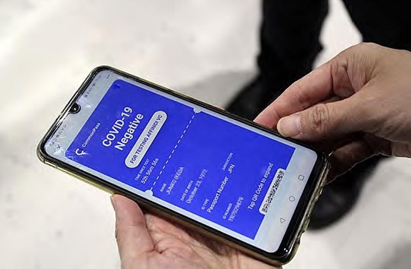デジタル健康証明「コモンパス」、JALシンガポール便でデジタル認証の完結を確認、出入国時に専用アプリでQRコード読取り