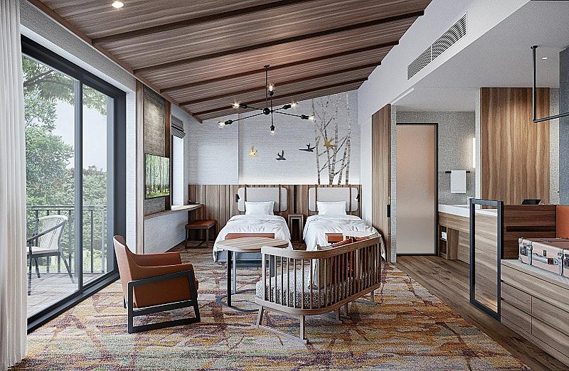 プリンスホテル、軽井沢でワーケーション設備充実のホテルオープン、新客室棟や温泉棟を新設