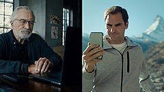 スイス政府観光局、俳優デ・ニーロ氏とプロテニス選手フェデラー氏が共演する短編動画を公開