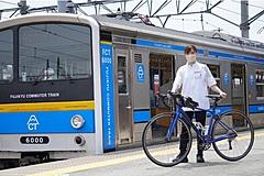 富士山の新観光スタイルに「鉄道+自転車」、富士急行がサイクルトレインの実証開始、電車内に自転車持ち込みOKに