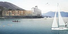 島根県海士町(あまちょう)、隠岐ユネスコ世界ジオパークで一体型施設「泊まれる拠点」を開業、海が見える全36室