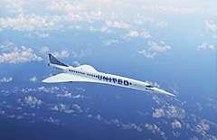 ユナイテッド航空、超音速旅客機15機を購入、サンフランシスコ/東京間がわずか6時間、2029年までに商業運航開始へ