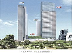 東京に新たな全国DMOの活動拠点、浜松町駅の再開発で観光施設を整備、訪日客向けデジタル体験施設やMICE対応の宿泊施設など