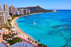 エクスペディアが旅行先の検索動向を発表、夏は国内、年末年始は海外が人気、日本ではハワイ・オアフ島が1位に