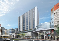 星野リゾート、熊本市の下通エリアにホテルを新規開業、2023年春に160室、ブランド未定